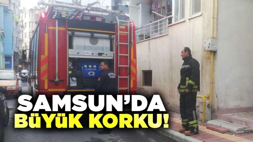 Samsun'da büyük korku!
