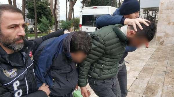 Samsun'da uyuşturucudan 4 kişi serbest