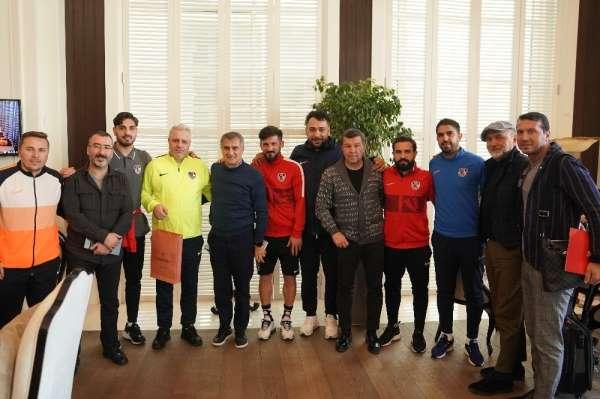 Şenol Güneş'ten Gaziantep FK'ya ziyaret
