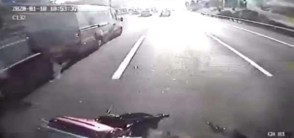 TEM otoyolunda feci kaza: 2 ölü