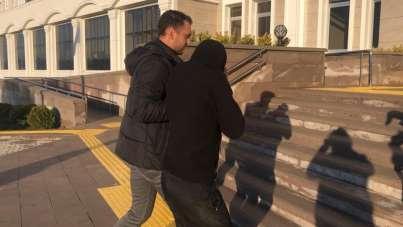 Üniversite kampüsünde korku salan zanlı tutuklandı