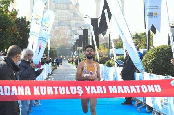 Adanada, 11. Kurtuluş Yarı Maratonu koşuldu