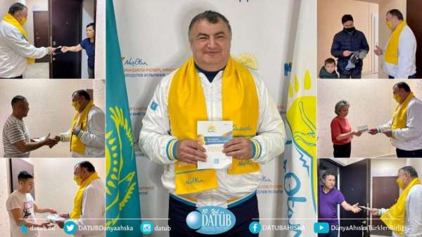 Başkan Kassanov, Kazakistanda milletvekili adayı oldu