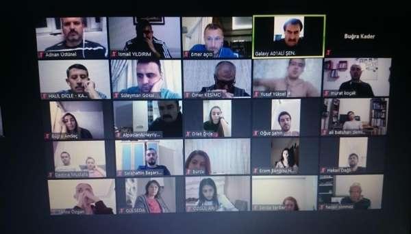 Voleybol İl Temsilciliği Ocak ayı online hakem ve gözlemci semineri yapıldı