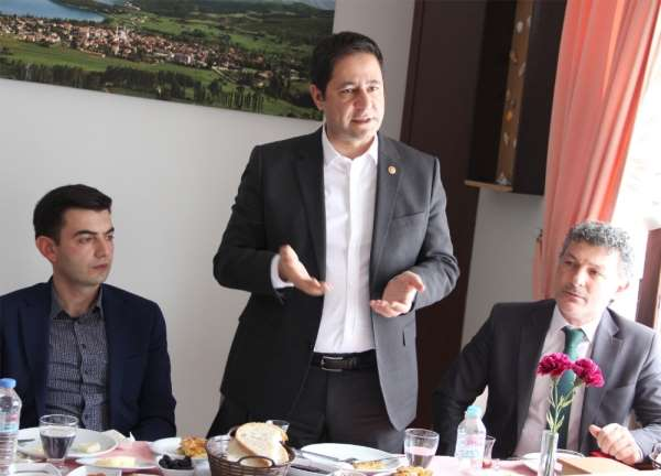 MHP'li Bulut: 'Almus'u siyasete ve ayak oyunlarına kurban etmeyeceğiz'