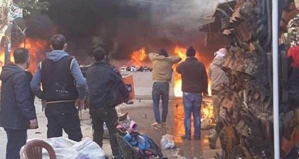 MSB: 'PKK/YPG'li teröristler Afrin'de EYP patlattı; 8 sivil öldü, 7 sivil yarala