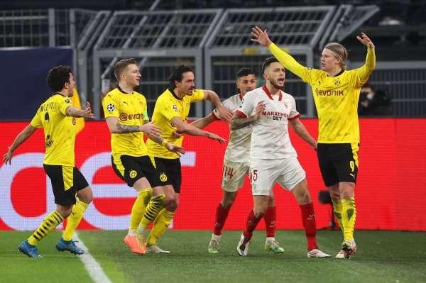 Dortmund Şampiyonlar Liginde çeyrek finalde