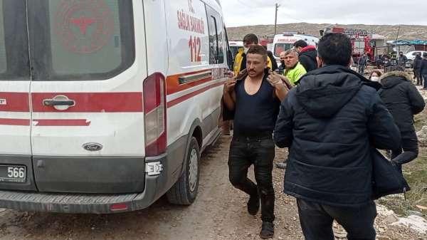 6 Kişinin yaralandığı patlamaya, kesilmek istenen LPG tankı neden oldu (2)