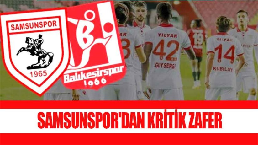 Samsunspor 1 Balıkesirspor 0