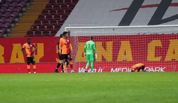 Galatasarayın galibiyet hasreti 3 maça çıktı