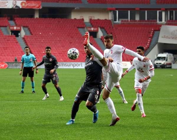 TFF 1. Lig: Samsunspor: 1 - Balıkesirspor: 0