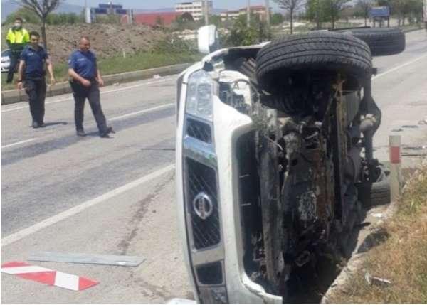 Afyonkarahisar İl Genel Meclisi üyesi ve İl Özel İdaresi Yol Müdürü trafik kazas