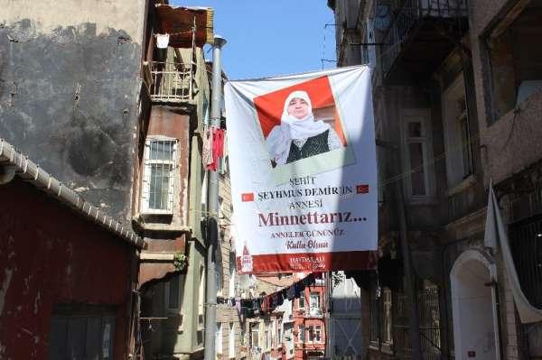 Beyoğlu Belediyesi Anneler Günü'nde şehit annelerini unutmadı