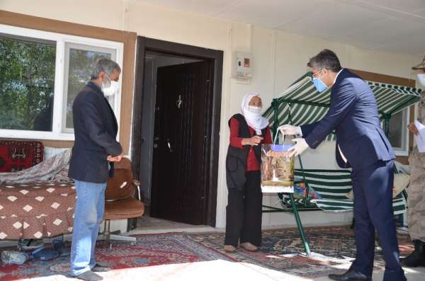Darende'de asırlık şehit ailelerine ziyaret