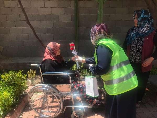 Meram Belediyesi şehit annelerini unutmadı
