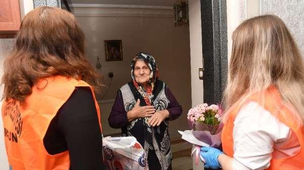 Samsun Büyükşehir Belediyesi'nden 'Anneler Günü' sürprizi