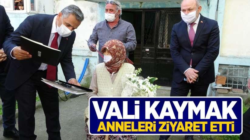 Osman Kaymak anneleri ziyaret etti