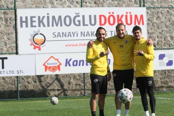 Batuhan Karadeniz, Hekimoğlu Trabzon FKda en iyi dönemini yaşıyor