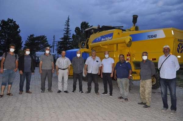 Arguvan'da hasat biçim ücretleri belirlendi