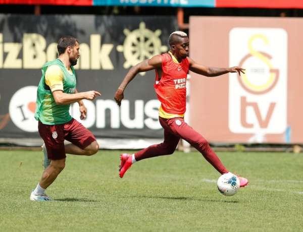Galatasaray, Rizespor hazırlıklarını sürdürüyor