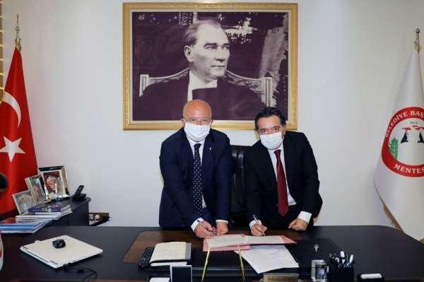 Menteşe Belediyesi ile GEKA arasında imzalar atıldı