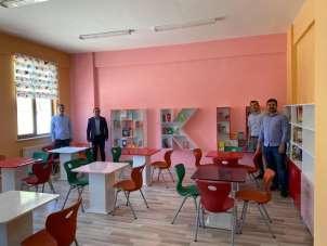 Şehit Yakup Aktürk adına Kütüphane yapıldı