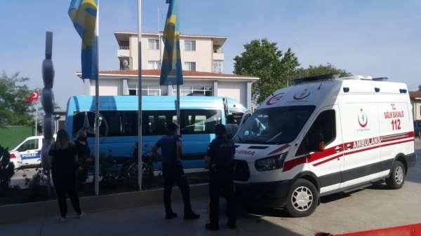 Sinop'ta korona testinden kaçan şahsı polis yakaladı