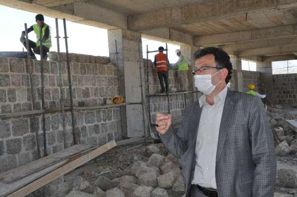 Şırnak'ta terörün yakıp yıktığı tarihi yapılar onarılıyor