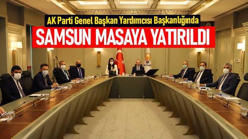 AK Parti Genel Başkan Yardımcısı Başkanlığında Samsun masaya yatırıldı