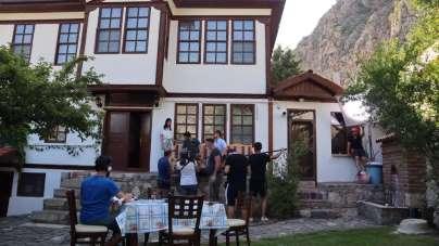 'Saffat' filminin çekimlerine Amasya'da başlandı