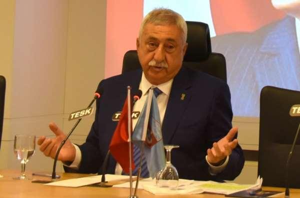 TESK Genel Başkanı Palandöken: 'Esnaf için yeni bir ekonomik paket hazırlanmalı'