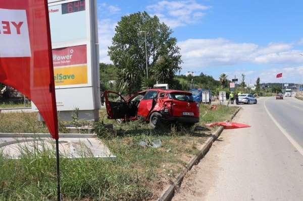 Yalova'da trafik kazası: 4 yaralı