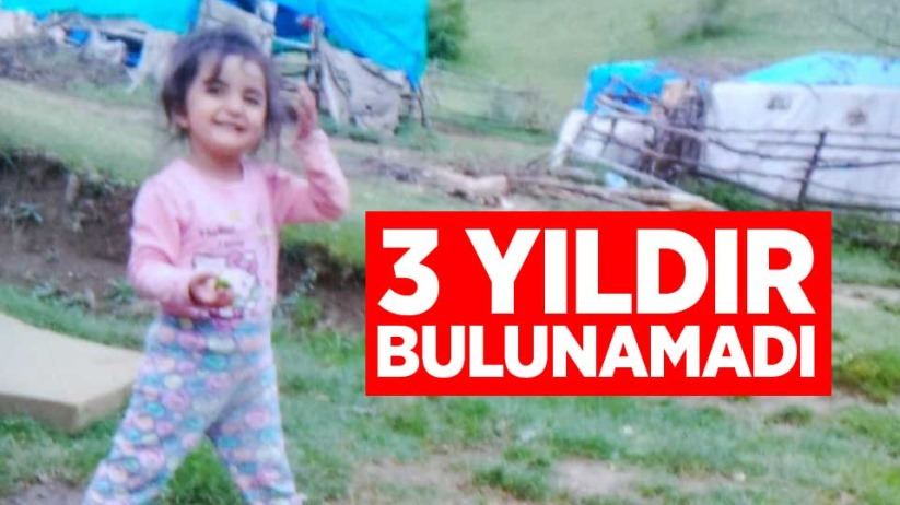 Kaybolan küçük kız 3 yıldır bulunamadı