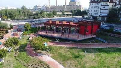 Konyaaltı Belediyesi, EXPO'daki 188 metrekarelik alanı üniversiteli gençlere tah