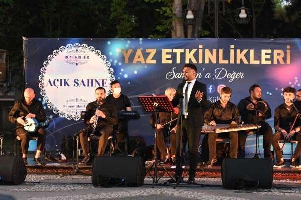 Samsun Büyükşehirden Açık Sahne Halk Konseri