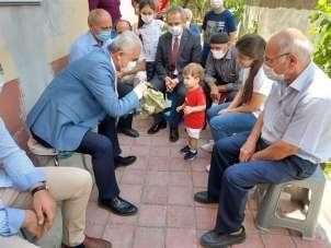 Vali Avni Çakır'dan şehit ailesine taziye ziyareti