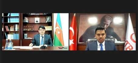 YTB Başkanı Eren, Azerbaycan Diaspora İş Üzre Devlet Komitesi Başkanı Muradov il