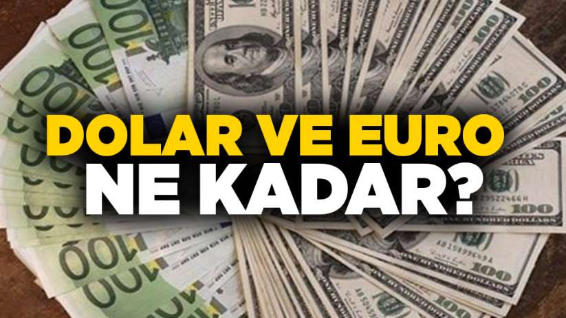 10 Ekim Perşembe Samsun'da Dolar ve Euro fiyatları güncel fiyatlar
