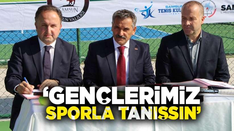 Osman Kaymak: 'Gençlerimiz sporla tanışsın'