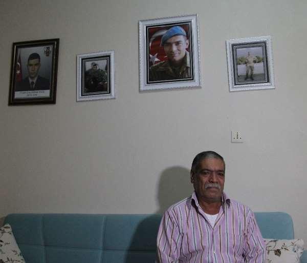 Şehit babası: 'Her şey vatan, bayrak için'