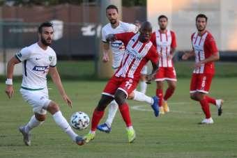 Hazırlık maçı: Antalyaspor: 1 - Denizlispor: 1
