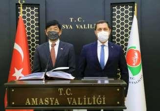 Japonya Büyükelçi Mıyajıma: 'Her yerde Türk dostluğunu ve Amasya'yı anlatacağım'