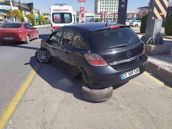 Elazığda trafik kazası: 1 yaralı