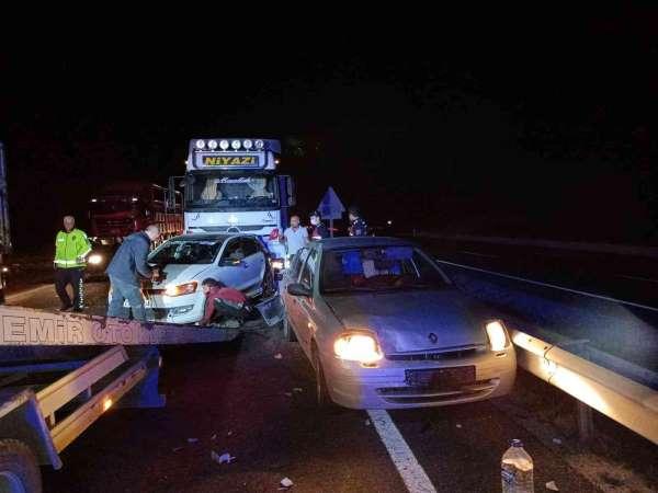 Eskişehirde zincirleme trafik kazası: 7 yaralı