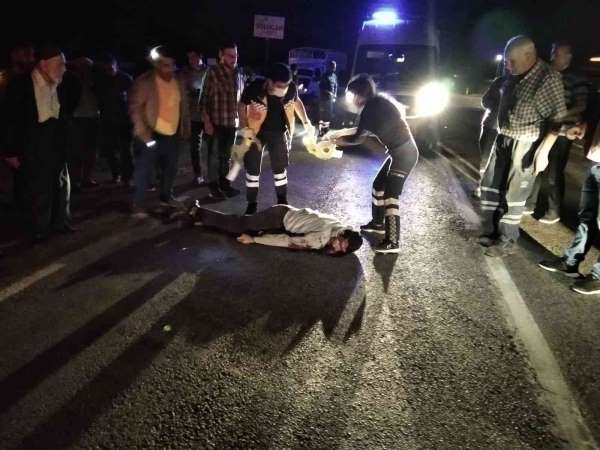 Kahtada kaza: 1 ölü, 1 yaralı