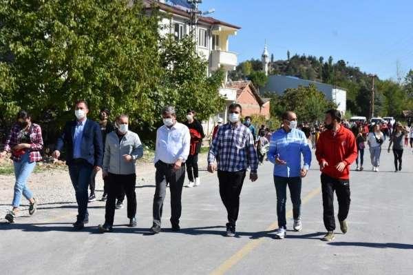 Tokatta Amatör Spor Haftası yürüyüşü düzenlendi