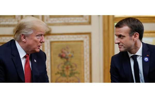 Trump-Macron'dan Kaşıkçı Değerlendirmesi