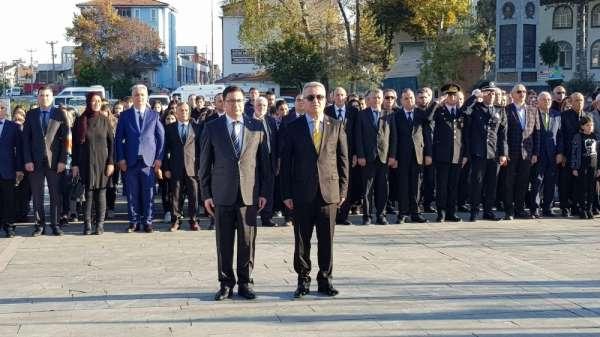 Alaçam'da 10 Kasım anma töreni
