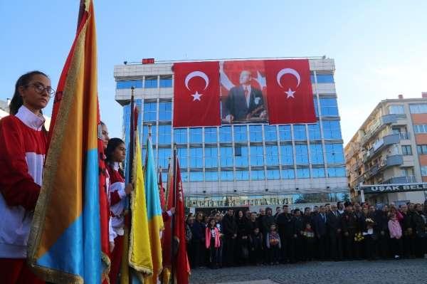 Atatürk ölümünün 81. yıl dönümünde Uşak'ta anıldı