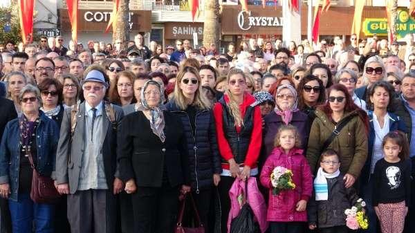 Çanakkale'de Atatürk ölümünün 81. yılında anıldı